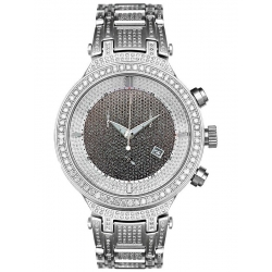 Mens Diamond Watch Joe Rodeo Master 5.20 ct JJM16 Steel Band