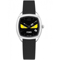 5bb5f6fea54f F222031611D1 Fendi Momento Bugs Eye Cushion Womens Black Watch