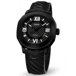 F820011111 Fendi Selleria Automatic Carbon Fiber Mens Watch