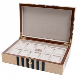 Rapport London Labyrinth Neutral 10 Watch Box L442