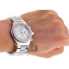 Mens Diamond Steel Watch Aqua Master Sport Plastic 1.00 ct