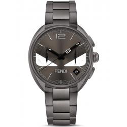 F215716400 Fendi Momento Bugs Eye Chronograph Mens Gray Watch