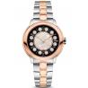 F121231500T01 Fendi IShine Black Dial Two Tone Rose 38mm Watch