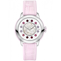 F132034571T01 Fendi IShine Pink Leather 38mm Womens Watch