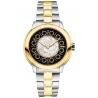 F121121500T01 Fendi IShine Black Dial 2 Tone Yellow 33mm Watch