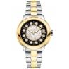 F121131500T01 Fendi IShine Black Dial 2 Tone Yellow 38mm Watch