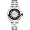 F121021500T01 Fendi IShine Black Dial Silver Steel 33mm Watch