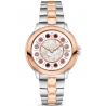 F121234500T01 Fendi IShine White Dial Two Tone Rose 38mm Watch