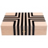 10 Watch Storage Box L442 Rapport London Labyrinth Solid Wood