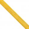 Pure 24K Yellow Gold Flexible Herringbone Chain Necklace 20 mm