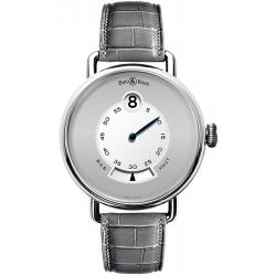 BRWW1-JH2G-PT/SCR Bell & Ross WW1 Heure Sautante Platinum Watch