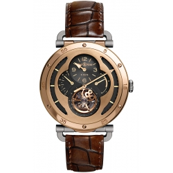 BRWW2-TOURB-MPG Bell & Ross WW2 Tourbillon Rose Gold Watch
