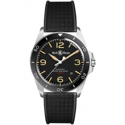 BRV292-HER-ST/SRB Bell & Ross BR V2-92 Steel Heritage Watch