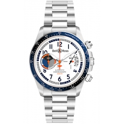 BRV294-BB-ST/SST Bell & Ross BR V2-94 Chrono Racing Bird Watch
