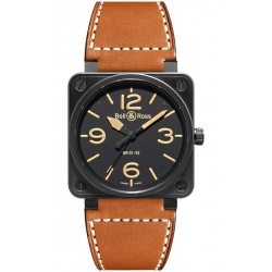Bell & Ross BR 01-92 Heritage 46 mm Watch BR0192-HERITAGE