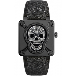 BR0192-AIRBOR-LGD Bell & Ross BR 01 Skull Airborne 415 Watch
