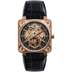 BR01-TOURB-PG/CA Bell & Ross Tourbillon Rose Gold Titanium Watch