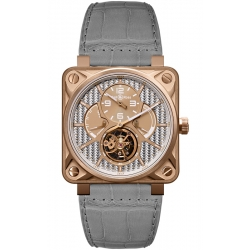 BR01-TOURB-PG/ALU Bell & Ross BR 01 Tourbillon Rose Gold Watch