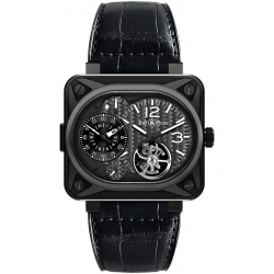 BR-MNUT-TOURB-CA Bell & Ross Minuteur Tourbillon Titanium Watch
