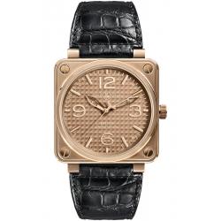 BR0192-GOLD_INGOT Bell & Ross BR 01-92 Pink Gold Ingot Watch