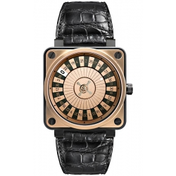 BR0192-SR-CA Bell & Ross BR 01-92 Roulette Casino Rose Gold Watch