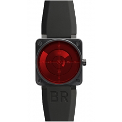 BR0192-SRR Bell & Ross Aviation BR 01-92 Red Radar Watch