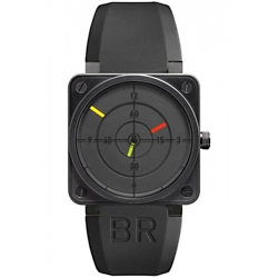 BR0192-RADAR Bell & Ross Aviation BR 01-92 Black Radar Watch