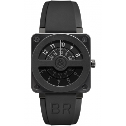 BR0192-COMPASS-CA Bell & Ross Aviation BR 01 Compass Watch