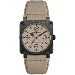 BR0392-DESERT-CE Bell & Ross BR 03-92 Desert Type Ceramic Watch