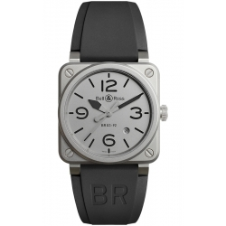 BR0392-GBL-ST/SRB Bell & Ross BR 03-92 Horoblack 42 mm Watch