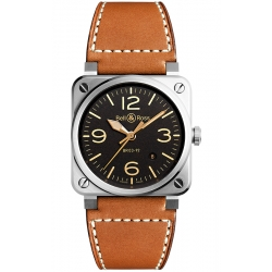 BR0392-ST-G-HE/SCA/2 Bell & Ross BR 03-92 Golden Heritage Watch