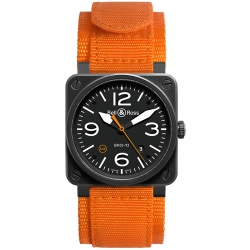 BR0392-O-CA Bell & Ross BR 03-92 Orange Carbon 42 mm Watch