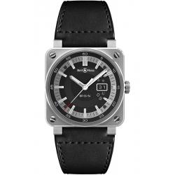 BR0396-SI-ST Bell & Ross BR 03-96 Grande Date Steel 42 mm Watch