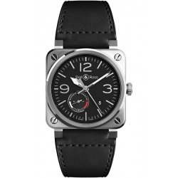 BR0397-BL-SI/SCA/2 Bell & Ross BR 03-97 Reserve De Marche Watch