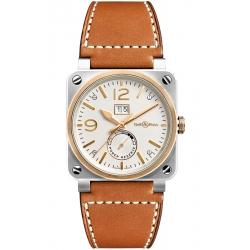 BR0390-BICOLOR Bell & Ross BR 03-90 Grande Date Reserve De Marche Bicolor Watch