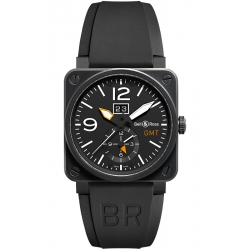 BR0351-GMT-CA Bell & Ross BR 03-51 GMT Carbon 42 mm Watch
