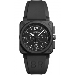 BR0394-BL-CE Bell & Ross BR 03-94 Chrono Black Matte 42 mm Watch