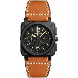 BR0394-HERI-CE Bell & Ross BR 03-94 Chrono Heritage 42 mm Watch