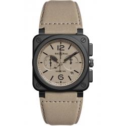 BR0394-DESERT-CE Bell & Ross BR 03-94 Chrono Desert Type Watch