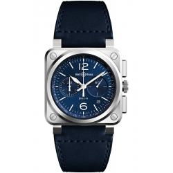 BR0394-BLU-ST/SCA Bell & Ross BR 03-94 Chrono Blue Steel Watch