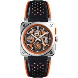 BR0394-SC-ORA/SCA Bell & Ross BR 03-94 Aero GT Orange Watch