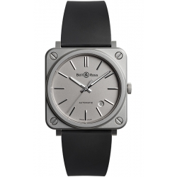 BRS92-GR-ST/SRB Bell & Ross BR S-92 Automatic Matte Grey Watch