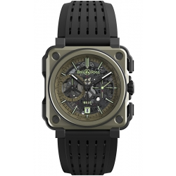 BRX1-CE-TI-MIL Bell & Ross BR-X1 Chronographe Military Watch