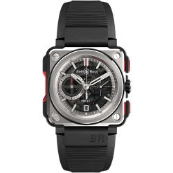 BRX1-CE-TI-RED Bell & Ross BR-X1 Chronographe Titanium Watch