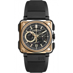 BRX1-CE-PG Bell & Ross BR-X1 Chronograph Rose Gold Ceramic Watch