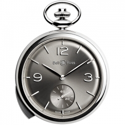 BRPW1-REPET-ARG Bell & Ross PW1 Repetition Minutes Pocket Watch