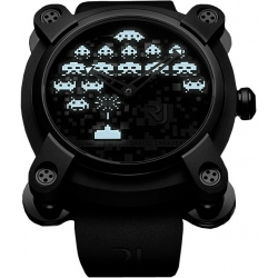 Romain Jerome Moon Dust Space Invader Mens Watch RJ.M.AU.IN.006.01