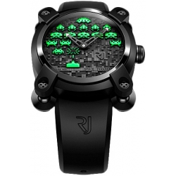 Romain Jerome Space Invaders Green Watch RJ.M.AU.IN.006.04