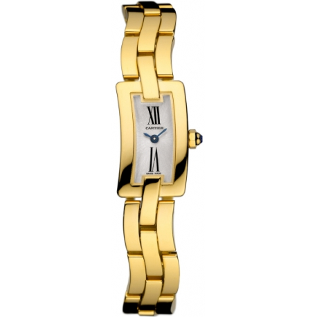 Cartier Ballerine Ladies Solid Yellow Gold Watch W700013J