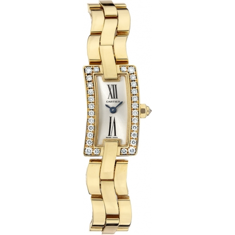 Cartier Ballerine Ladies Solid Yellow Gold Watch WG40013J